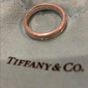 Tiffany & Co thin 1837 ring - size 6